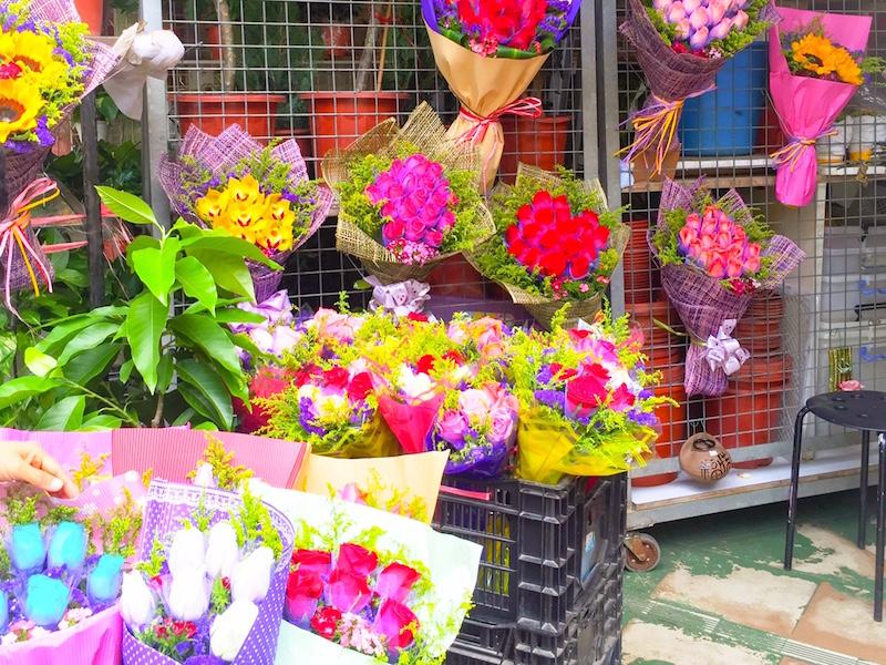mercado de flores- o que fazer em Hong Kong