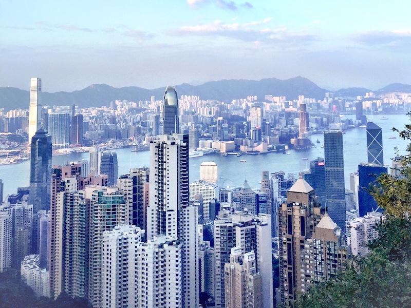 the peak- o que fazer em Hong Kong