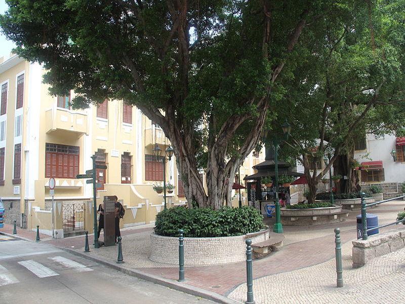 lilau- centro histórico de macau
