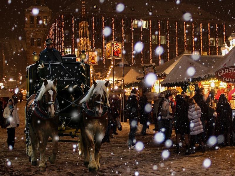 Nuremberg- destinos de Natal da Europa