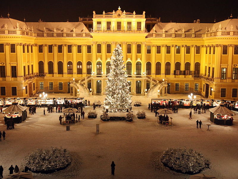 Vienna- destinos de Natal da Europa
