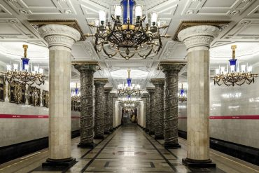 As estações de metrô mais lindas do mundo