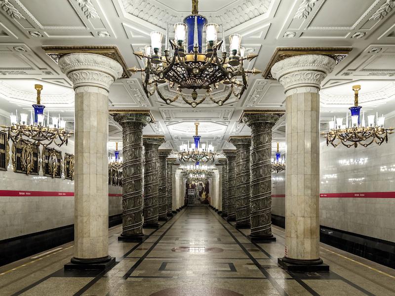 estações de metrô mais lindas do mundo