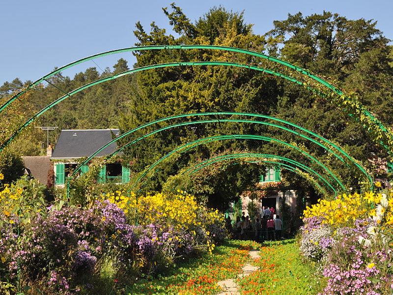 giverny- jardins da França