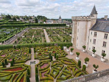 villandry- jardins da França