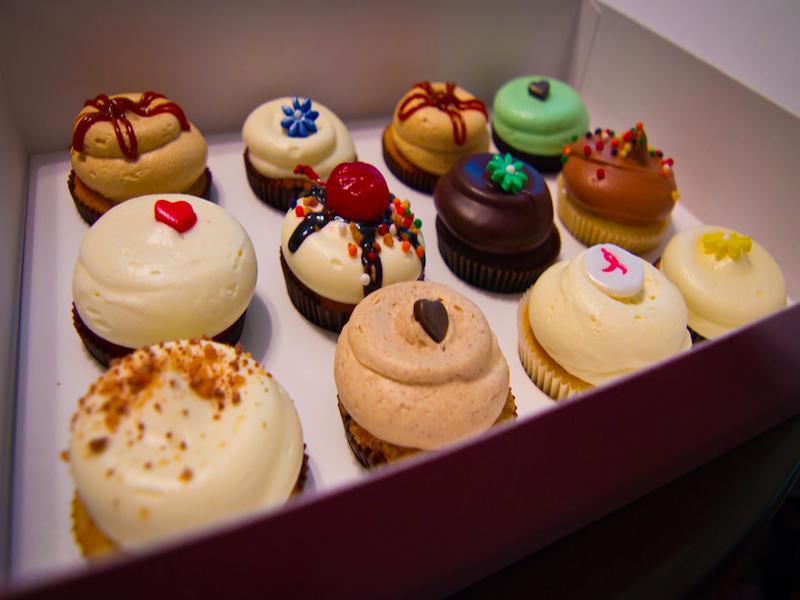 cupcakes em Nova York