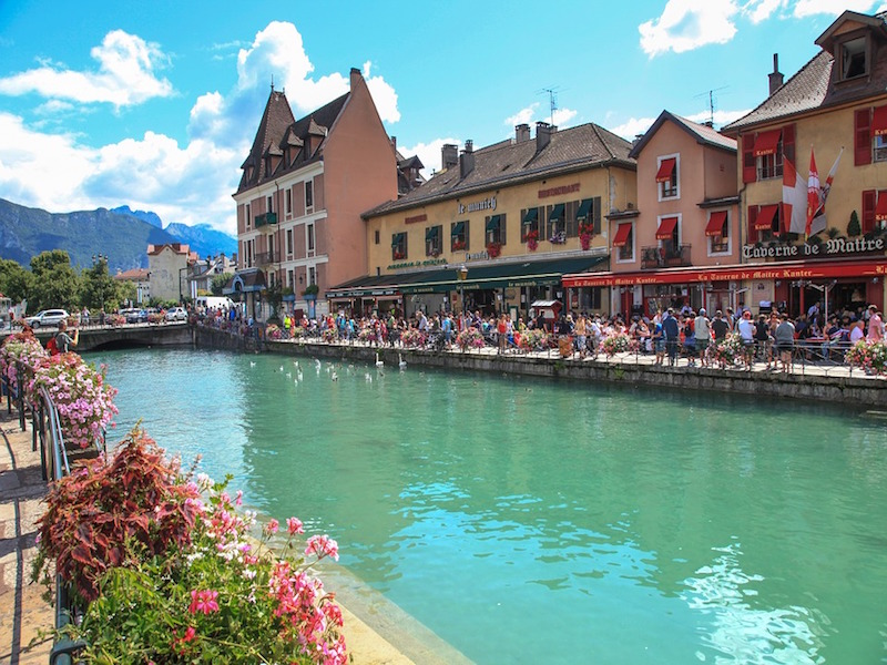 Lago Annecy- lagos na Europa