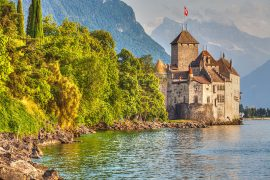 Lago Geneva- lagos na Europa