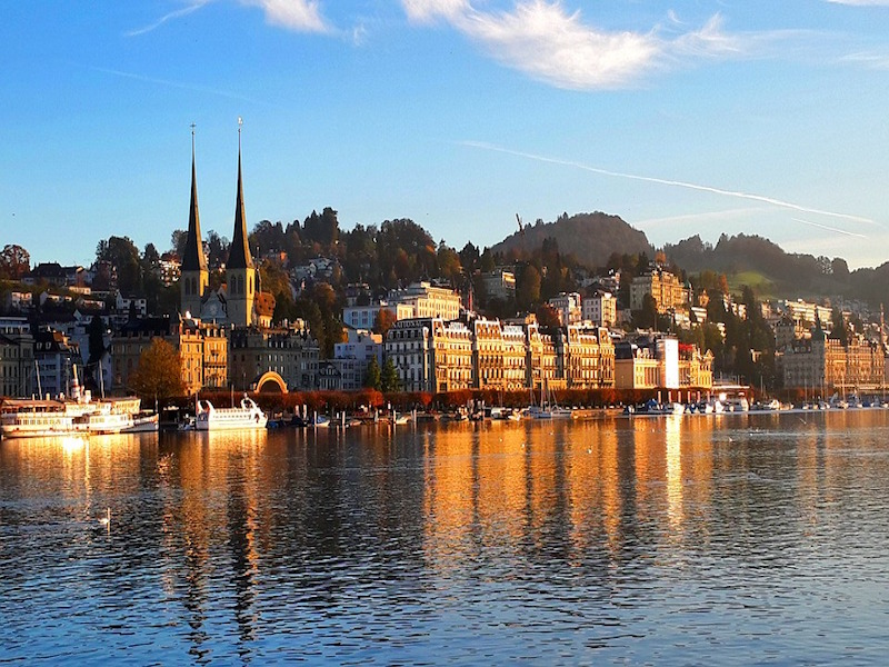 Lago Lucerna- lagos na Europa