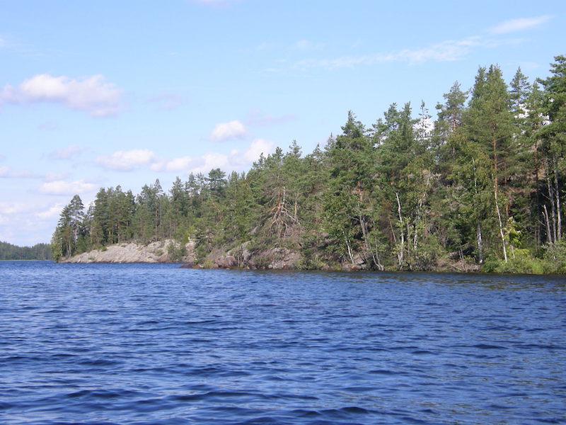 Lago Saimaa- lagos na Europa