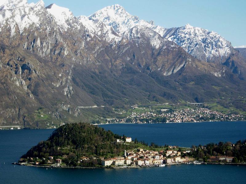Lago di Como- lagos na Europa