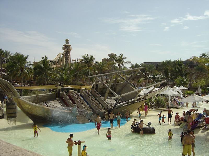 wild wadi water park- o que fazer em dubai