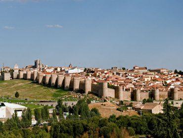 Avila- vilarejos da Espanha