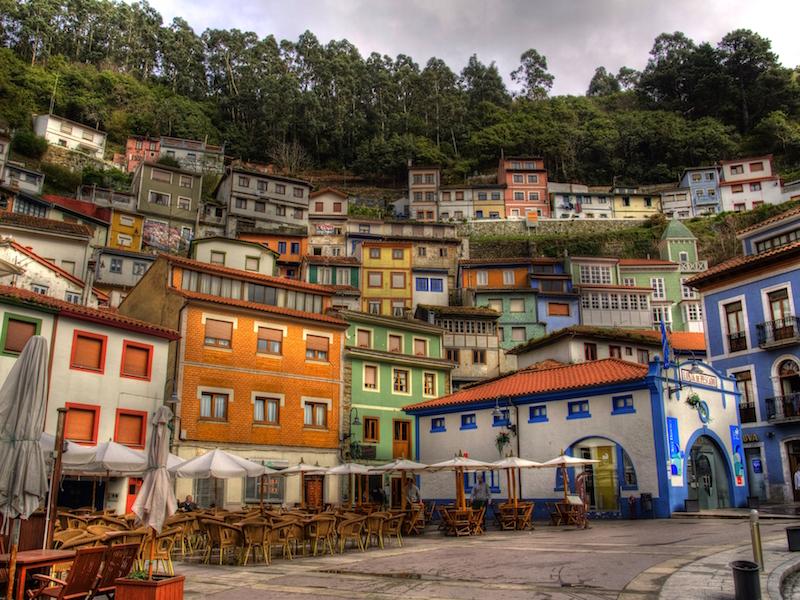 Curdillero- vilarejos da Espanha