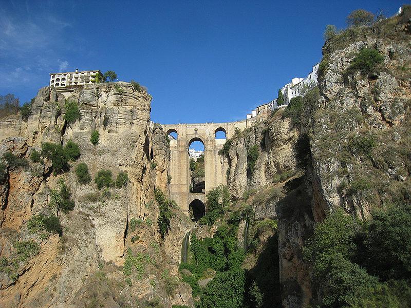 Ronda- vilarejos da Espanha