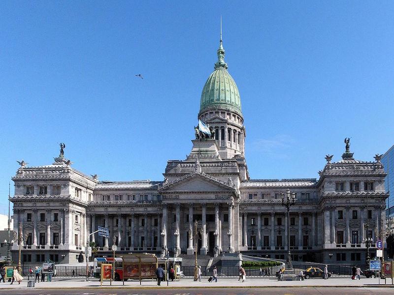 congresso nacional da argentina- centro de Buenos Aires