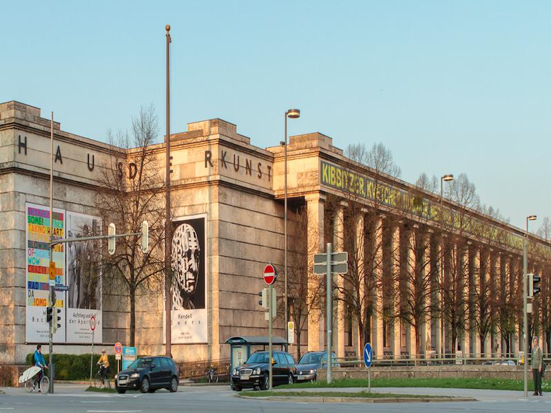 Haus der Kunst- roteiro cultural por Munique