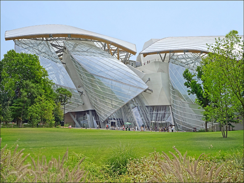 Fondation Louis Vuitton- arte moderna e contemporânea em Paris