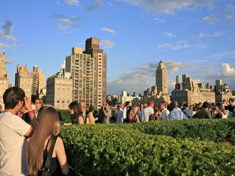 Rooftop Met- Nova York do alto