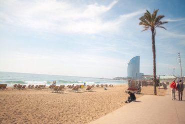 As principais praias de Barcelona