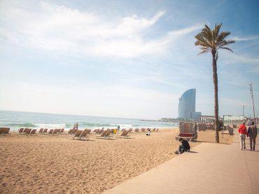 praias de Barcelona
