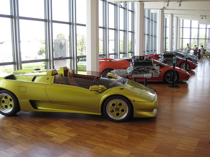 Museu da Lamborghini- museus de marcas de carros.