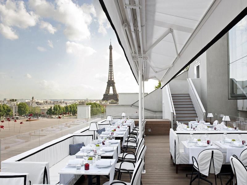 restaurantes em Paris com vista para a Torre Eiffel