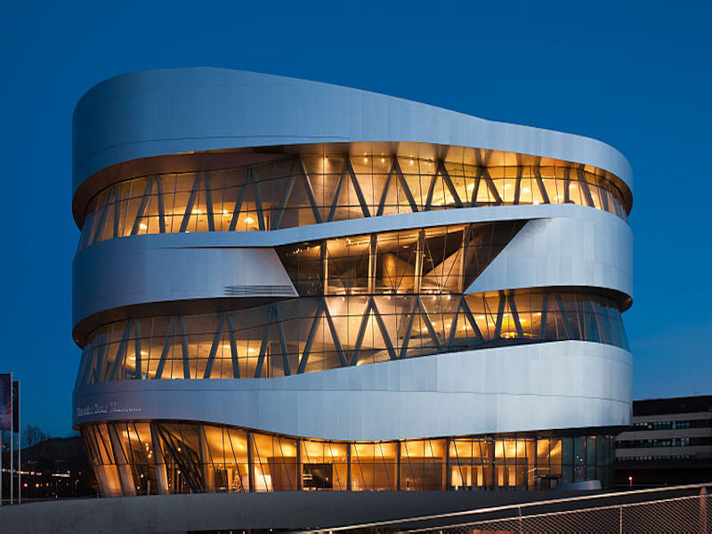 Museu da Mercedes-Benz- museus de marcas de carros.