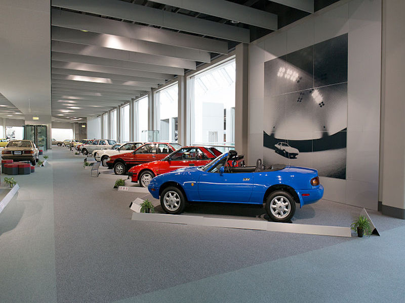 Museu da Toyota- museus de marcas de carros.